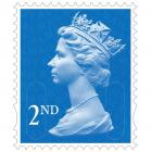 Royal 2nd Class Stamps