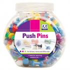 Push Pins in Tub