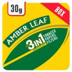 Amber Leaf 3 in 1 Crush Proof Box Rolling Tobacco