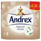 Andrex Natural Pebble Toilet Roll PM £2.25