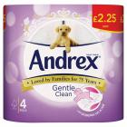 Andrex Puppy Gentle Clean Toilet Roll PM £2.25