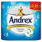 Andrex Classic Clean Toilet Roll PM £2.25