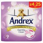 Andrex Gentle Clean Toilet Roll PM £4.25