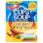 Batchelors Cup A Soup Chicken & Veg Sachets PM £1.39