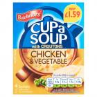 Batchelors Cup A Soup Chicken & Veg Sachets PM £1.59