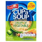 Batchelors Cup A Soup Cream of Veg Sachets PM £1.59