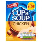 Batchelors Cup A Soup Chicken Sachets PM £1.59