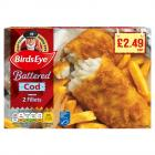 Birds Eye 2 Cod in Batter PM £2.49