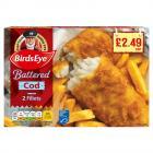 Birds Eye 2 Cod in Batter PM £2.49