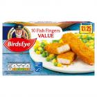 Birds Eye 10 Value Fish Fingers PM £1