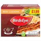 Birds Eye Beef Lasagne PM £1.99