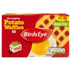 Birds Eye 10 Potato Waffles PM £1.99