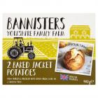 Bannisters Farm 2 Baked Jacket Potatoes