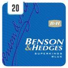 Benson & Hedges Superkings Blue - Half Outer