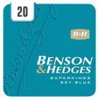 Benson & Hedges Superkings Sky Blue