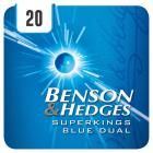 Benson & Hedges Blue Dual Superkings - Half Outer