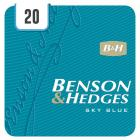 Benson & Hedges King Size Sky Blue - Half Outer