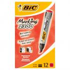 Bic Marker Eco 2300 Red