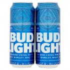 Bud Light Lager Beer Cans