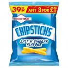 Smiths Chipsticks Salt & Vinegar PM 39p