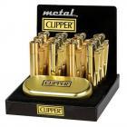 Clipper Flint Display Gold Brushed