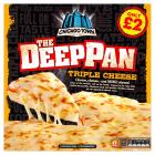 Chicago Town Deep Pan Triple Cheese Pizza PM £2