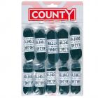 County Black Boot Laces