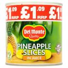 Del Monte Pineapple Slices In Juice £1.09