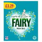 Fairy Washing Powder Non Bio PM £3.29