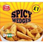 Farmer Jack's Spicy Potato Wedges PM £1