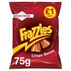 Smiths Frazzles Crispy Bacon Snacks £1 PMP