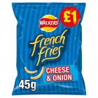 Walkers French Fries Cheese & Onion PM £1