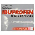 Galpharm Ibuprofen Capsules 200mg