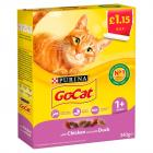 Go-Cat with Chicken & Duck PM £1.15