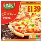 Ginos Deep Pan Chicken Pizza PM £1.39