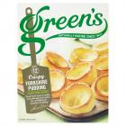Greens Yorkshire Pudding PM 75p