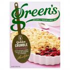 Greens Crumble PM £1