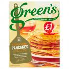Greens Syrup Pancake PM £1