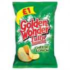Golden Wonder Cheese and Onion PM £1