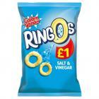 Golden Wonder Ringos Salt and Vinegar PM £1