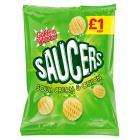 Golden Wonder Saucers Sour Cream & Onion PM £1