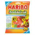 Haribo Fruitilicious PM £1