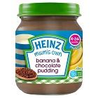 Heinz Banana Chocolate Pudding