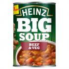 Heinz Big Soup Beef & Vegetable PM £1.29