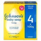 Johnsons Baby Soap Honey