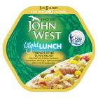 John West Light Lunch French