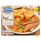 Kershaws Beef Dinner PM £1.89