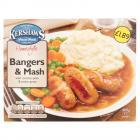 Kershaws Bangers & Mash PM £1.79