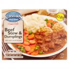 Kershaws Beef Stew & Dumplings PM £1.89