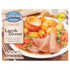 Kershaws Lamb Dinner PM £1.79